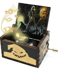 The Nightmare Before Christmas Music Box, Vintage Cool Gifts, Free Shipping