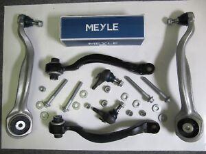 4x Meyle HD Querlenker mit Traggelenk + Montagesatz Mercedes E-Klasse W212 Vorne