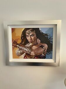 PAUL NORMANSELL Limited Edition Print of Wonder Woman 'The Time Is Now' + COA