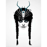 Ruben Ireland - Wakeful Warrior ART PRINT POSTER 50x70cm NEW UK Visual Artist