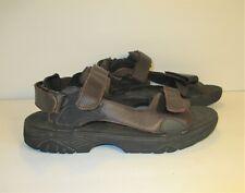 "FRYE ""Windward"" Brown Leather Strappy Sandals-SZ 13D"