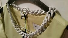 BNWT Mimco White  chain  Choker Necklace Collar R.R.P $ 129.00 + Dust bag