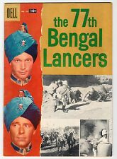 Dell - FOUR COLOR #791 THE 77th BENGAL LANCERS - VG+ 1957 Vintage Comic