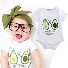 Recién Nacido Infantil Bebé Niño Niña Niño Traje Una Pieza Body Ropa Trajes Set