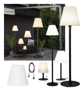LED Gartenlampe PE Lampe Hängelampe Stehlampe 60 -187 cm IP65 E27 Indoor Outdoor