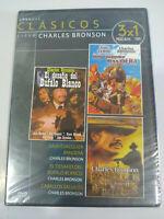 Charles Bronson Coleccion 3 Peliculas - DVD Region All Español Ingles Nueva 2T