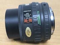 Pentax-F 35-70 f3.5-4.5 Walkabout short zoom Close Focus 'macro' AF lens