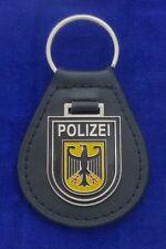 Bundespolizei Leder Schlüsselanhänger -Wappen- # BGS # Polizei #1