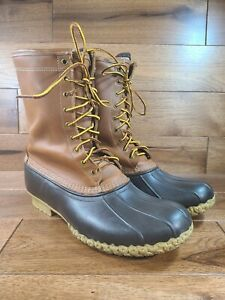 LL Bean Men's Bean Boots Gore-Tex & Thinsulate Lined Wide Size 14 W