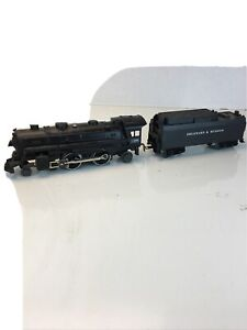 LIONEL O SCALE #1400 DIE-CAST DELAWARE AND HUDSON STEAM LOCOMOTIVE READY TO RUN