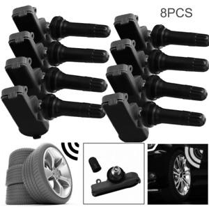 8 Pcs 13581558 Car TPMS Tire Pressure Monitoring Sensors For GM Chevy GMC Buick