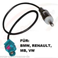 Antennenadapter Fakra male DIN Antenne Stecker Adapterkabel f BMW 3er E46 E90