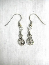 Charms Dangling Earrings Fashion Jewelry New Tribal Spiral Infinity Symbol