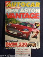 AUTOCAR Magazine 26th April 2000 Aston Vantage
