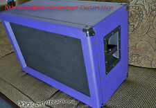 "SONSETBEACH Purple ORANGE 2x12"" Custom Speaker Cab SSB212B with  Jensen Speakers"