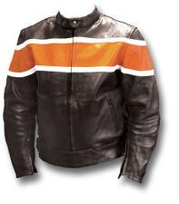 GTH TT-S SPORT LEATHER MOTORCYCLE BIKER JACKET [72017]