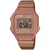 CASIO Retro Classic Unisex Digital Steel Bracelet Watch-A168WA-1YES Rose Gold