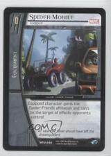 2007 VS System Marvel Team-Up Booster Pack Base #MTU-040 Spider-Mobile Card 3v2