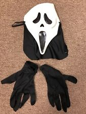 Vintage 1990s Ghostface Scream Mask And RARE Gloves Easter Unlimited