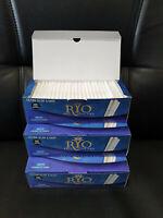 *NEW* 600 ROLLO RYO 6.5mm BLUE ULTRA SLIM FILTER TUBES Tobaccoo Ciggarette