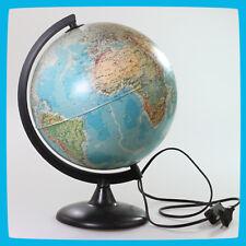 Big World Geological(terrain)/Polit ical Globe 25cm electrical Lamp Lighting