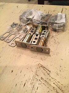 New Oem Kwikset Deadbolt Throw And Knob Latch Hardware Parts Nickel