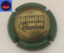 Capsule de Champ HOTTE THIERRY Cuvée Belge Chambord Or, Noir Ctr Vert n°7 Cote 5
