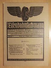 Eisenbahn Zeitschrift 1930 Einmännige Nebenbahn-Lokomotiven Krupp Lasthebemagnet