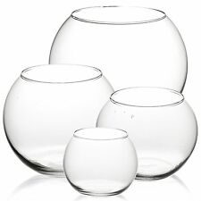 Pasabahce Round Glass Flower Vase Fish Bowl Balloon Centerpiece Wedding GiftBox
