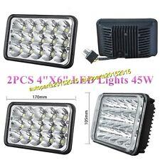 2pcs LED Headlights For Kenworth T800 T400 T600 W900B W900L Classic 120/132 NEW