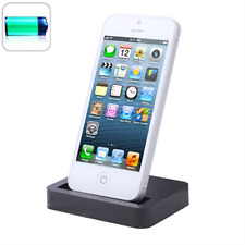New Desktop Charging Dock Stand Charger For Apple iPhone 7 6s 6 & Plus Black