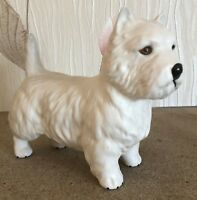 BESWICK DOG WEST HIGHLAND WHITE TERRIER  MODEL No 2038 WHITE MATT PERFECT