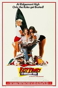 Fast Times at Ridgemont High (1982) Movie Poster, Original, SS Unused NM, Rolled