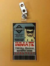 Batman ID Badge- Arkham Harley Quinn cosplay prop costume