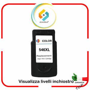 Cartuccia compatibile per Canon CL546 XL  8288B001  Pixma MG 2550 Pixma MG 2555