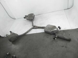 2012 2013 2014 Audi A5 2.0L Convertible Only Exhaust Muffler Pipe