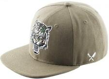 Distorted People Barber & Butcher Tiger Army Green Snapback Cap Basecap One Size