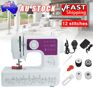 12-Stitch Electric Sewing Machine Kit Multi-Function Professional Portable Home