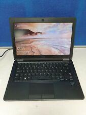 """Dell Latitude E7250 12.5"""" Laptop i5 5th Gen 128 GB SSD 12 GB Ram Win 10 HDMI"""