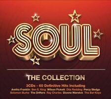 60 SOUL GREATEST HITS NEW 3CD SET Atlantic / Stax 60's 70's Soul and Dance Hits