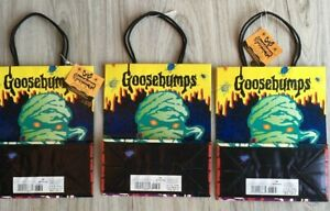 3 Goosebumps Vtge Gift Bags Birthday All Occasion 2/3 w tags Halloween 1995