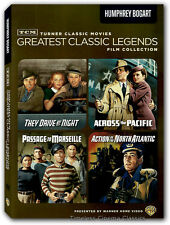 They Drive By Night, Passage To Marseille, Across The Pacific 1 more DVD New