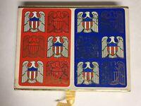 Vintage Congress Playing Cards 2 Pack Sealed Cel-U-Tone Finish U.S. Seal Pattern