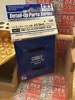 Tamiya Detail Up Parts - Black Cable 12675 professional Modeler 0.5mm hobby