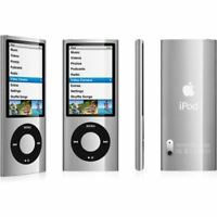 Apple iPod Nano 5th Generation Silver / Black (8GB) + Extras (AMAZING VALUE) (C)