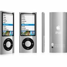 Apple iPod Nano 5th generazione ARGENTO/NERO (8GB) + EXTRA (incredibile valore) (C)
