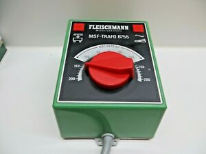 Fleischmann 6755 Msf Transformer Throttle Control 0-15 V 17 VA Tested