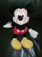 Doudou Disney Nicotoy Peluche Mickey Rouge Et Noir 27 CM