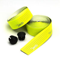 Deda Elementi MISTRAL Perforated Bicycle Handlebar Bartape Bar Tape FLUO YELLOW