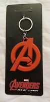 MARVEL AVENGERS LOGO KEYCHAIN NEW LICENSED KEY RING